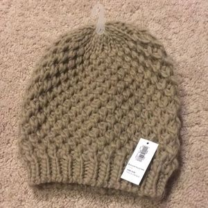Old Navy Tan Knit Hat